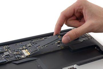 Macbook SSD Yükseltme