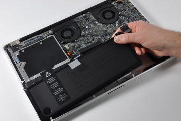 Macbook Batarya Değişimi