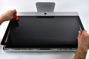 iMac Ekran Temizlenmesi